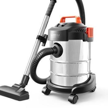 【陕西晟木电子】亿力吸尘器家用强力大功率小型手持式地毯静音干湿吹桶式吸尘机磨砂桶基础版