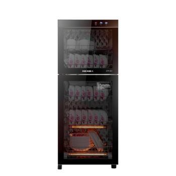 喜儿消毒柜家用立式迷你小型双门高温不锈钢商用消毒碗柜大容量