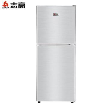 Chigo/志高 BCD-101s146P2D冰箱小型双开门家用静音节能小电冰箱