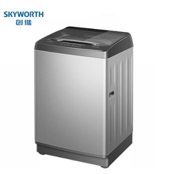 创维10公斤全自动家用洗衣机大型大容量KG全自动波轮洗衣机T100Q