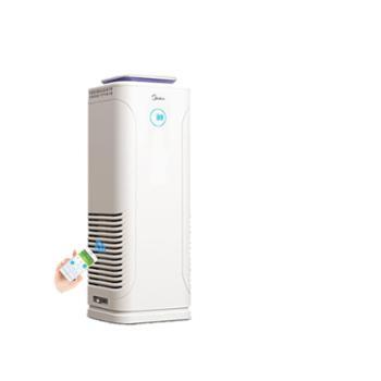 美的负离子空气净化器家用卧室除甲醛二手烟pm2.5霾客厅净化机E33
