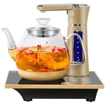 容声全自动上水电热水壶玻璃烧水壶智能抽水式电磁茶炉煮茶器家用