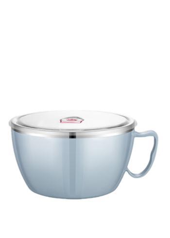 不锈钢泡面碗带盖单个便携保温便当盒饭碗大号
