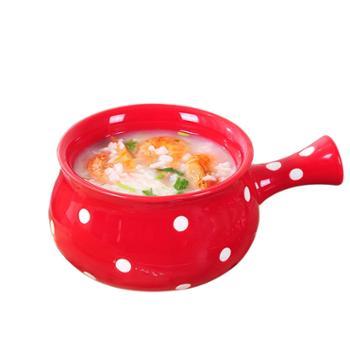 日式网红餐具ins早餐碗单个创意个性饭碗家用可爱水果沙拉汤碗盘
