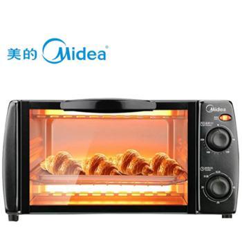 美的烤箱家用小型迷你烘焙全自动多功能精致电烤箱蛋糕T1-108B