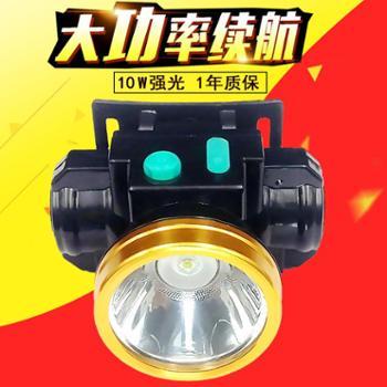 酷霸虎LED夜钓头灯户外狩猎锂电可充电强光钓鱼灯头戴帽子矿灯