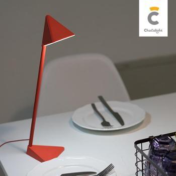 chocolight 风格派led三角台灯大学生学习护眼灯USB寝室宿舍阅读灯创意可充电