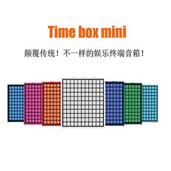 Divoom TIMEBOX MINI像素智能蓝牙音箱LED七彩灯闹钟音响创意礼品