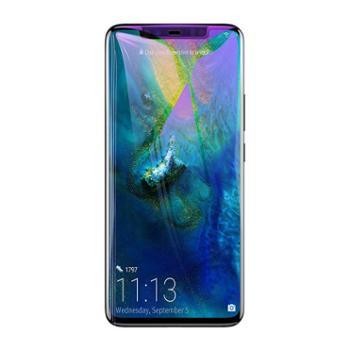 倍思 华为Mate20手机膜Mate20pro防蓝光膜0.3mm全屏曲面钢化膜黑色