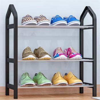 索尔诺简易鞋架多层家用收纳鞋柜简约现代经济型组装防尘鞋架子生活用品
