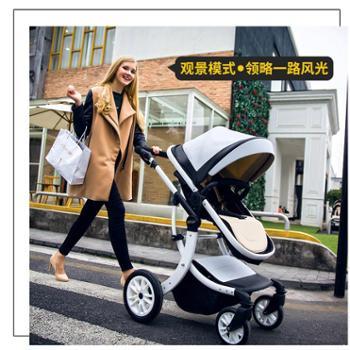 teknum婴儿推车可坐平躺高景观折叠宝宝儿童夏天轻便新生儿手推车608型号