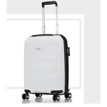 爱华仕 OCX6319-24 24寸PP飞机轮拉杆箱 白
