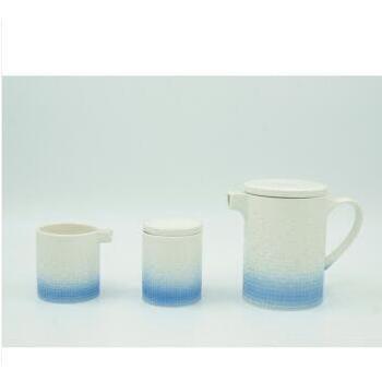 【CODA】 蔻达马克浮雕下午茶套装 浅蓝色D1023