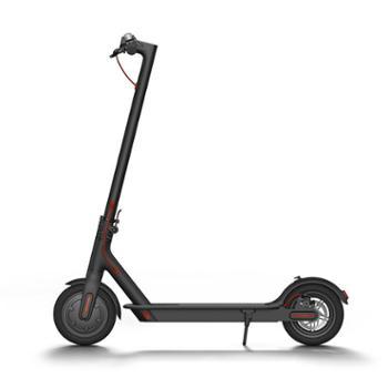 小米电动滑板车 黑色 成人/学生 迷你便携 折叠双轮车 黑色