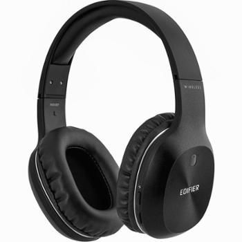 漫步者 W800BT无线蓝牙头戴式耳机电脑手机游戏运动跑步HIFI带麦克风可接听电话低音炮