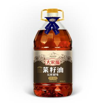 大宋福 压榨原味菜籽油 5L 非转基因菜籽油