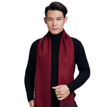 牧都绒语新款男士围巾EM8001E