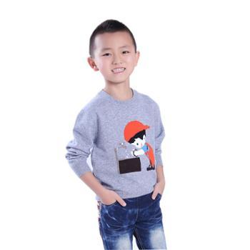 牧都绒语新款男童套衫ETM7021