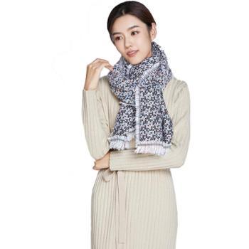 牧都绒语女士时尚围巾披肩8WJ0038W
