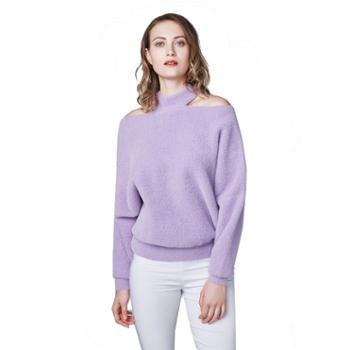 牧都绒语女士时尚貂绒衫FW8101-03