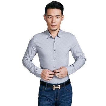 牧都绒语男士衬衫FM9111-12