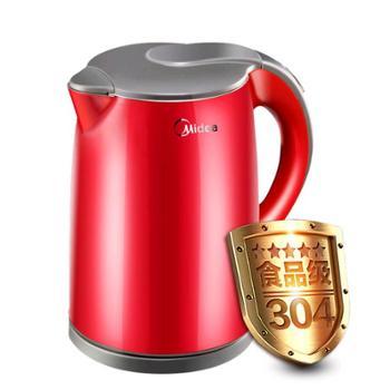 美的WH415E2g电热水壶不锈钢家用1.5L电水壶【正品保证】
