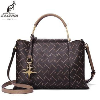阿尔皮纳袋鼠女士包包大容量手提包单肩斜跨包