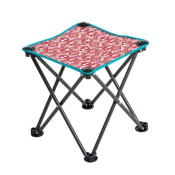 悠莱弗Yolafe绚彩折叠四角凳小马扎便携钓椅折叠椅小凳子板凳送背袋