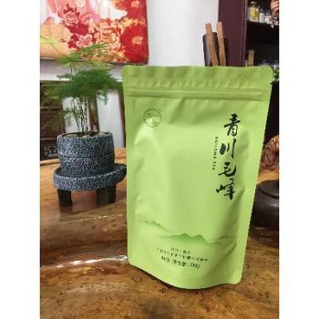 青川绿茶100g青川毛峰(浅绿)