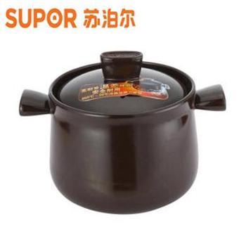 苏泊尔/SUPOR TB35A1陶瓷砂锅 3.5L