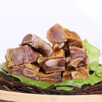 中国农谷湖北特产腊排骨猪排骨农家自制手工腌制腊味咸味排骨500g包邮