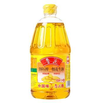 鲁花 5S压榨一级 花生油1.8L 食用油