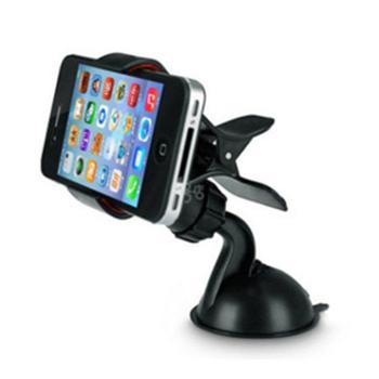 【颜色随机】车载手机支架懒人支架带吸盘 360度旋转 通用手机支架座