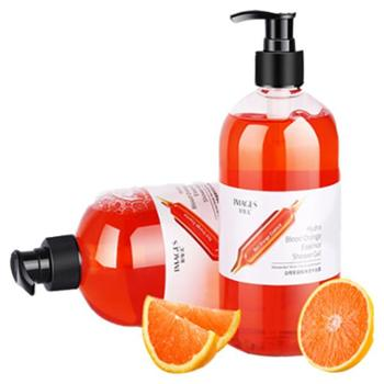 形象美血橙保湿沐浴露深层清洁血橙沐浴露温和滋润香体走珠