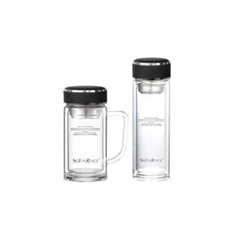 萨汀莱斯SATONROYCE 形束套装 双层玻璃保温杯套装 DY-19-001N