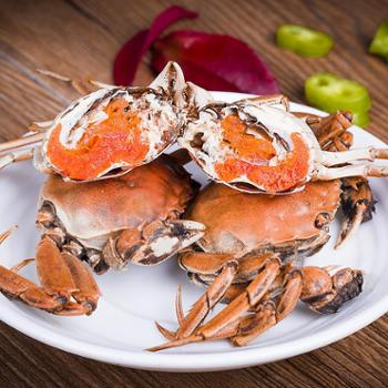 洪泽湖大闸蟹现货鲜活全母螃小螃蟹40只可以做美味的香辣蟹(二)善融六周年