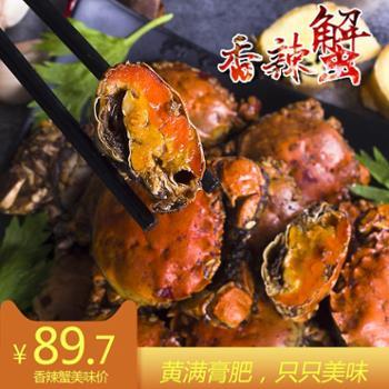 泗水良农香辣蟹200gX3罐香辣小海鲜罐装