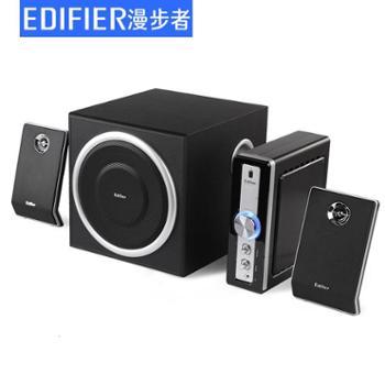 Edifier/漫步者 C1 木质2.1 多媒体有源电脑音箱 功放低音炮音响