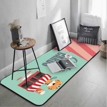 地毯浴室厨房地垫卡通地毯 防滑印花门垫地垫隔水踏垫多花型多尺寸可备注
