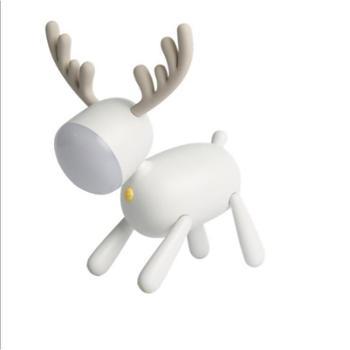 智能定时伴睡小鹿充电led灯 新款小台灯夜灯卧室电子产品创意