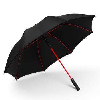 沐笙超大尺寸双人三人双层高尔夫伞直杆伞长柄伞广告伞遮阳伞