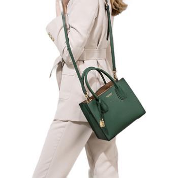 包包手提包欧美时尚单肩斜跨真皮女包托特包女包