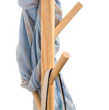 木马人 实木衣帽架木质衣架落地卧室衣服架子挂衣架时尚儿童衣架
