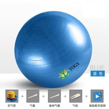 群袖防爆瑜伽球初学加厚孕妇分娩助产球磨砂球瑜珈健身气球收身球儿童QX-YJQ01