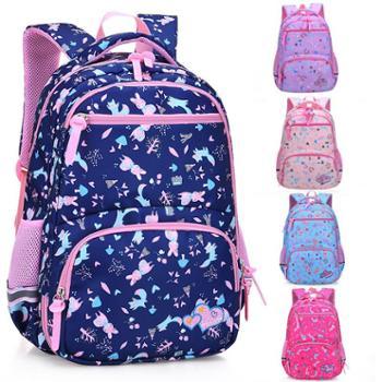 芝麻宝贝5185儿童书包小学生女童1-3年级6-12周岁4-6年级女孩双肩背包轻便减负