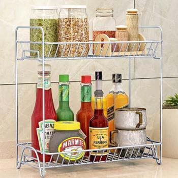索尔诺厨房置物架落地调味料架浴室层架卫生间卧室2层储物架子