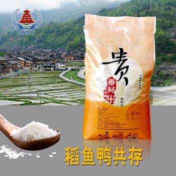 贵州黎平大米农家自种营养米贵香粘10公斤装香软白米饭