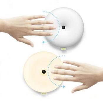甜甜圈智能无线感应灯 LED床头灯 USB充电台灯 小夜灯