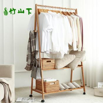 挂衣架落地卧室 家用收纳简易衣服架子 多功能现代简约移动衣帽架
