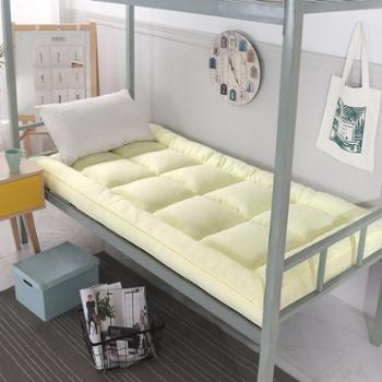 加厚10cm软床垫学生宿舍单人床0.9m寝室上下铺床褥子1米1.2m1.5米